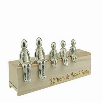 22nd Anniversary Idea - 22 Years We Made A Family Metal