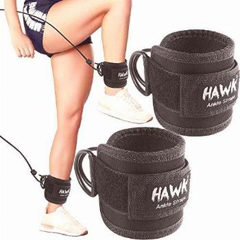 Ankle Straps for Cable Machines Padded Ankle Cuffs (Pair) -