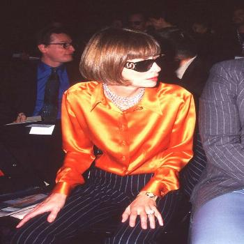 Anna Wintour young style