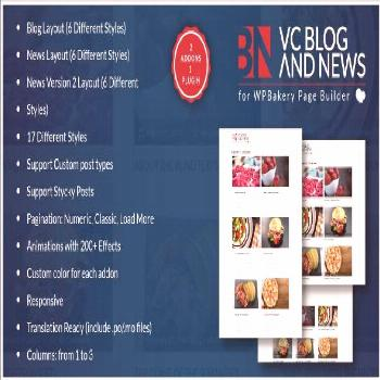 Blog and News Addons for WPBakery Page Builder for WordPress (formerly Visual Composer)  ⠀  Welco