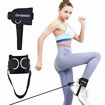 Brebebe 1 Pair Fitness Ankle Strap for Cable Machine,