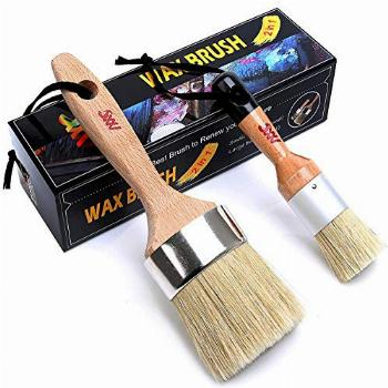 Chalk and Wax Paint Brush Furniture - Painting or Waxing -