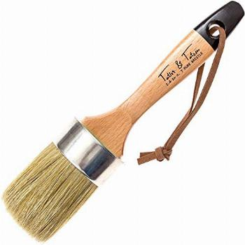 Chalk & Wax Paint Brush for Furniture - Painting or Waxing -