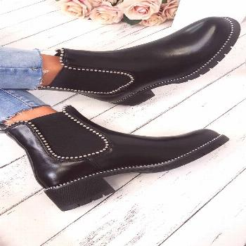 Dani Studded Chelsea Ankle Boots