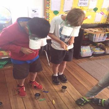 In this activity, students get to explore different adaptations that animals have. I would split th