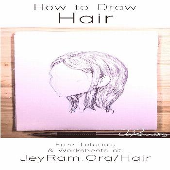 Learn how to draw hair with these tutorials that are designed to help you learn all the necessary s