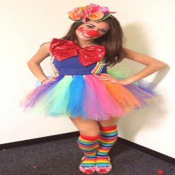 Make a funny clown costume yourself »Funny DIY ideas |  Make a funny clown costume yourself »Funn