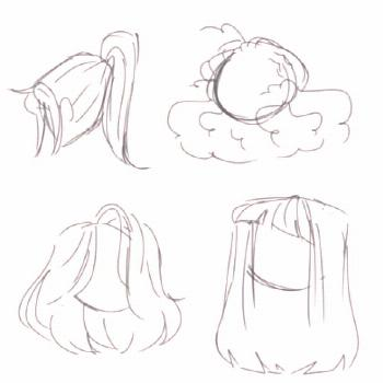 New drawing reference hair animation Ideas   New drawing reference hair animation Ideas