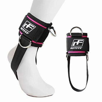 RitFit Padded Ankle Strap for Cable Machine,Strong Hook and