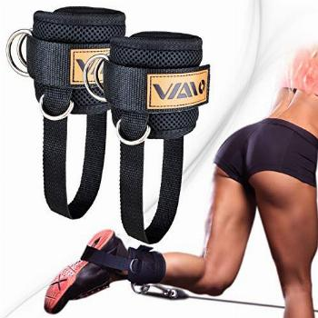 VAIIO Ankle Straps for Cable Machines,Adjustable Comfort fit
