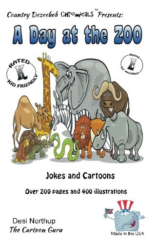 A Day at the Zoo - Jokes and Cartoons in Black and White
