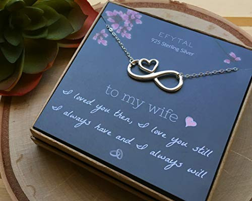 EFYTAL Wife Gifts, Wife Birthday Gift Ideas For Her,