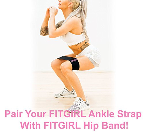 FITGIRL - The Best Ankle Strap for Cable Machines and