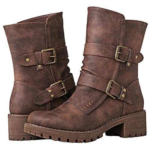 GLOBALWIN Fashion Ankle Boots For Women 8.5M